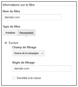 filtre spam referrer google analytics